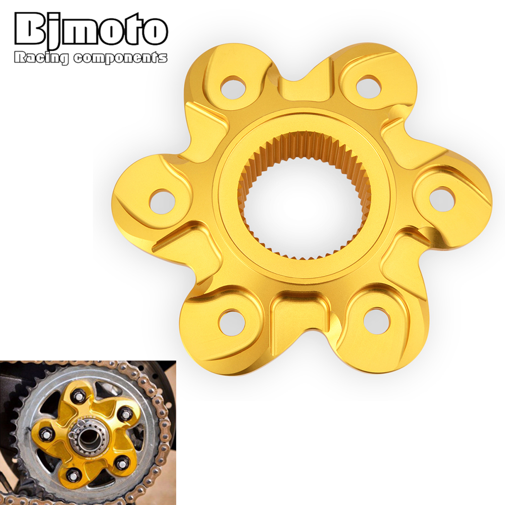 Bjmoto For Ducati 1098 1198 1199 1299 Brand Rear Sprocket Cover Drive Flange Cover For Diavel Multistrada Supersport