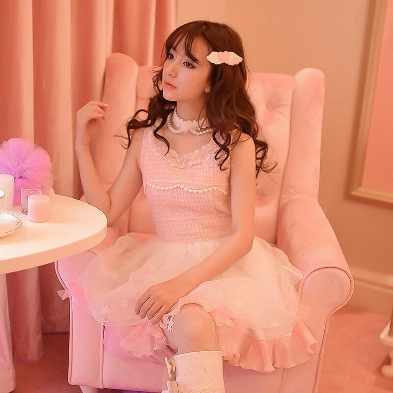 Princess sweet lolita dress Candy rain Small sweet  wind cloth joining together the princess dress sundress C16CD5953