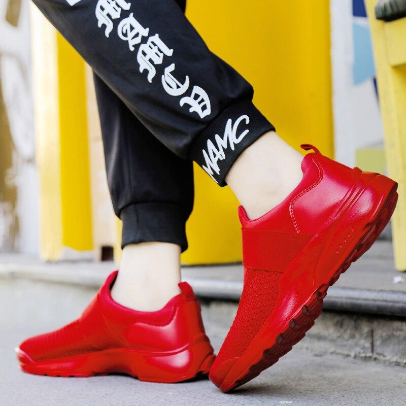 LAOCHRA 빅 사이즈 45 46 남성 야외 운동화 남성용 - 남성용 신발 - 사진 4