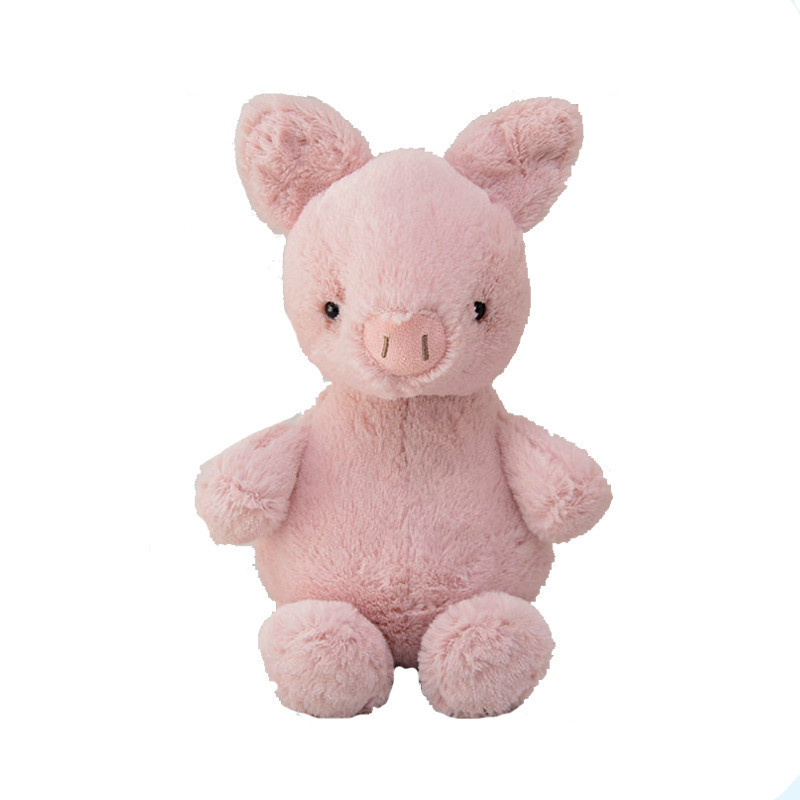 25cm Cute Pink Pig Stuffed Plush Toys dolls Kids Baby Girls Boys Stuffed Animals Christmas Gift Lovely Cartoon Toys
