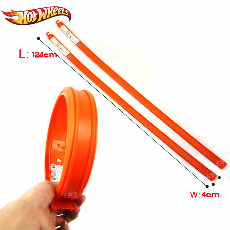 Hot Wheels 1 Pcs Accessories Roundabout  Track Toy Kids Toys Model Plastic Miniatures Cars Track Educational Slot Car Toy Bct38 #3
