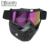 New Retro motocicleta óculos de proteção óculos rosto máscara de poeira com destacável nariz e da Face de óculos de sol Gafas óculos Motocross capacete