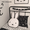 60*40cm cartoon baby pillow cotton baby kids room decoration rabbit children room decor pillow newborn baby photography props