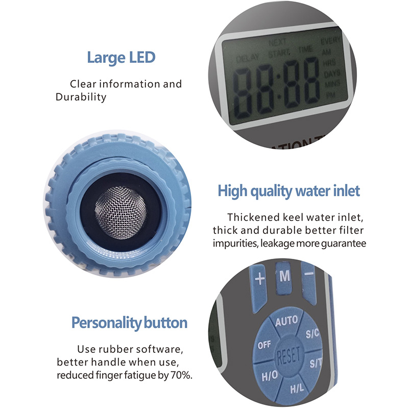 Automatic Electronic Smart Digital Water Timer Irrigation Controller System Garden Watering Timer Home 005