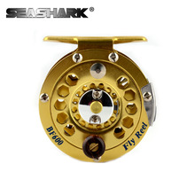 Fly Fishing Reel 3/4 5/6 7/8  WT Fly Reel 1BB 1:1 High Quality Aluminum Alloy Fishing Gear CNC Frame Spool Fishing Tackle