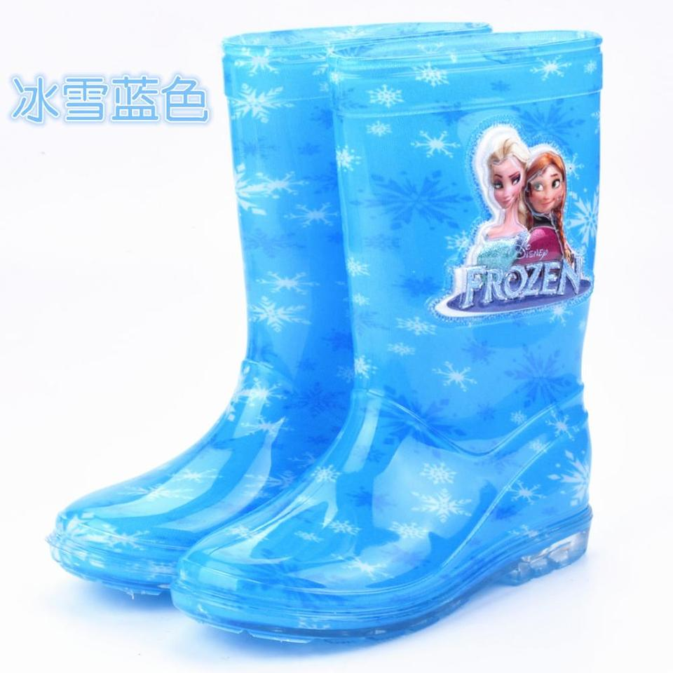rain boots rubber shoes cartoon men