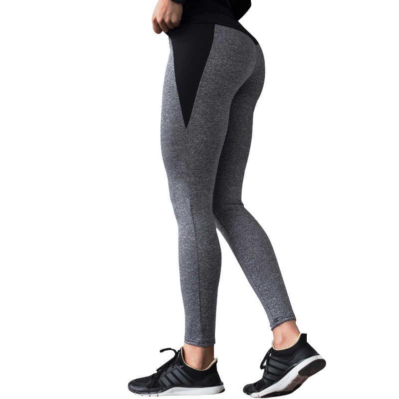 NORMOV leginsy damskie legginsy Fitness Feminina trening legginsy wysoka talia Fitness Leging sportowe spodnie sportowe legginsy