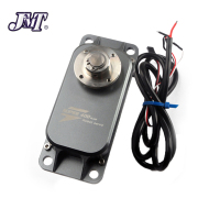 JMT 400kg / 200kg High Torque Metal Brushed Servo Steering Gear Suitable for 12v 24v Large Robot Arm DIY Models UAV