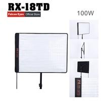 RX 18TD 504 шт 3200 5600 K плавный затемнение СВЕТОДИОДНЫЙ свет рулон гибкий водонепроницаемый коврик светодиодный студийная панель световой Коврик