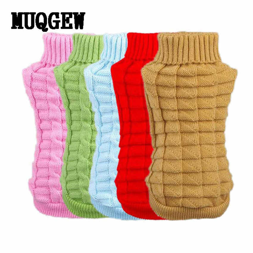 Pet Dog Clothes Winter Chihuahua Puppy Dog Coat Pet Winter Woolen Sweater Dog Clothing  Roupas Para Cachorro