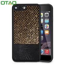 Для iphone 6 6s 7 плюс case роскошные крокодил змея печати кожаные чехлы задняя крышка для телефона case сумки коке капа углерода волокна