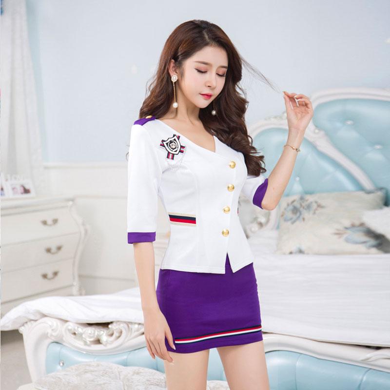 Design quality beauty salon massage uniform female waiter for Spa uniform female