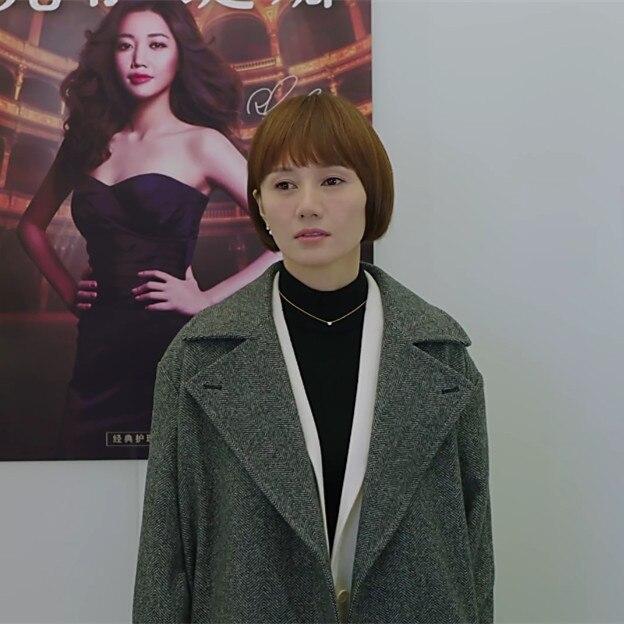 Femelle Designer Survêtement De Qualité Star Nouveau Haute Longueur Coréenne 2018 Marque Manteau Femmes Mode Laine Moyen xnwqZB0W8P