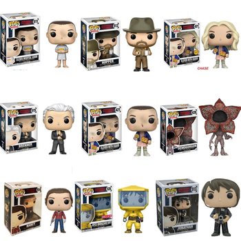 Funko pop Official Stranger Things Eleven Demogorgon Hopper Jonathan Nancy Brenner Joyce Action Figures Collectible Model Toys