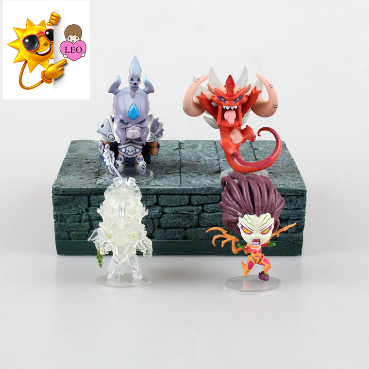 (4 pieces/lot) WOW Action figure Model Exquisite Doll Ornaments PVC Figurine World Anime with boxed Action & Toy Figures GH151 wow где earthroot у орды 2 4 3