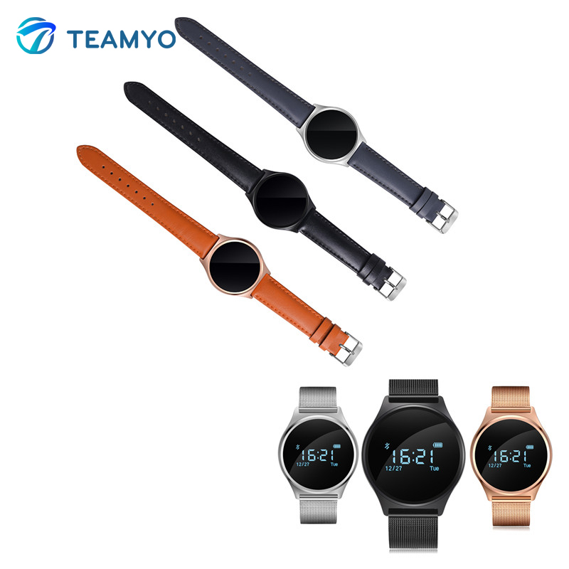 Teamyo M7 Blood Pressure Heart Rate Monitor Smart Watch Pedometer Bluetooth Smat Bracelet For Android iOS