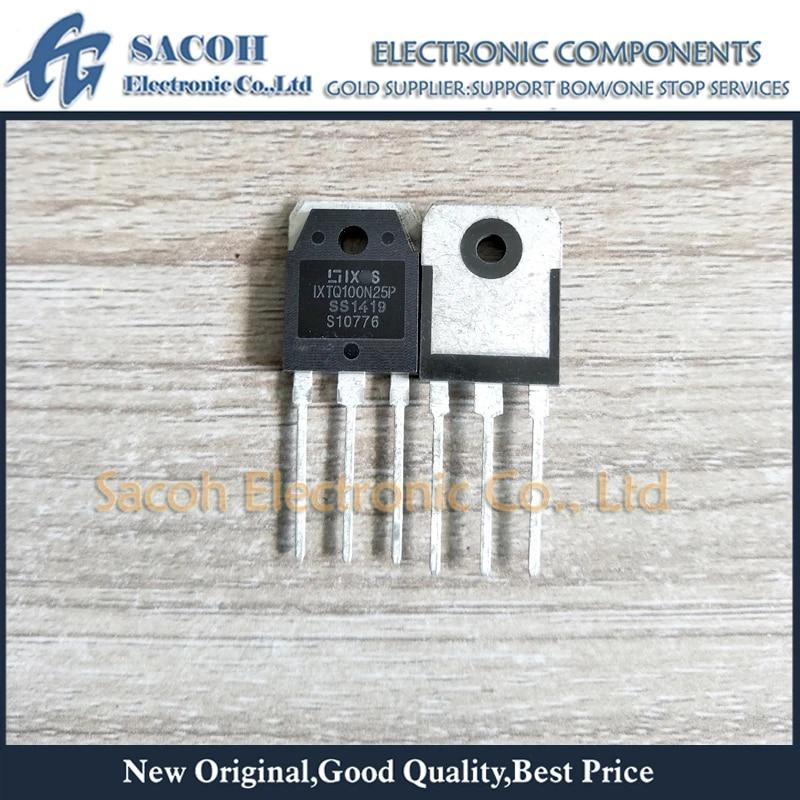 n-MOSFET polarht ™ ser unipolar 250v 100a 600w to3p IXYS Ixtq100n25p transistor
