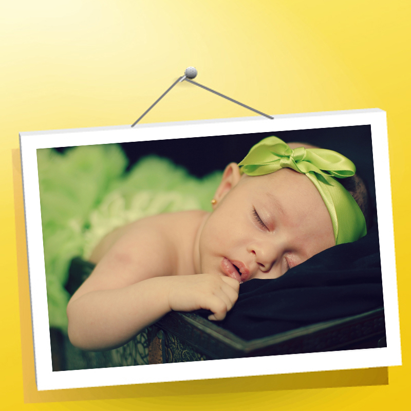 12 Home Decor Gift Ideas From Walmart: Cute Babyhood Baby Poster Bedroom Living Room Wall Home