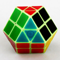 Rainbow Strange Shape Magic Cube Educational Brain Teaser Stress Reliever Speed Square Puzzle Cube Toys for Children Kids