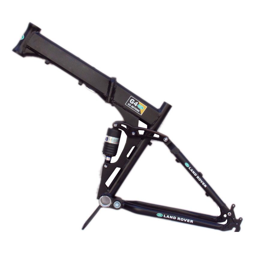 mtb folding frame 26 17 g4 aluminum alloy mountain bike suspension frame bicycle frame mountain bike frame in bicycle frame from sports entertainment