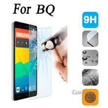 2.5D de vidrio templado 9 H para BQ U Lite Plus M5 X5 más E4 E4.5 E5 E6 A4.5 M4.5 Protector de pantalla templado película
