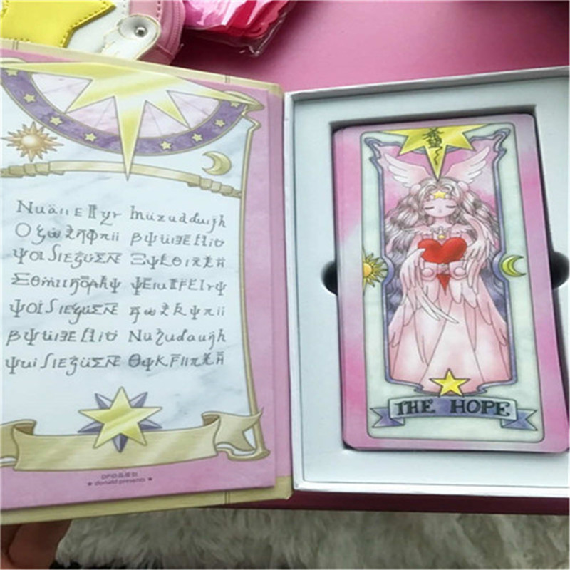 Costumes & Accessories New Card Captor Sakura 56 Piece Cards With Pink Clow Magic Book Set New In Box