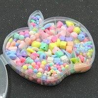 DIY Bracelet Acrylic Bead Kit Phụ Kiện DIY Cô Gái Đồ Chơi Trang Sức Làm Trẻ Em Hạt Set Mới Nhất Charming Dây Chuyền