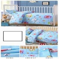 Children's Quilt Kindergarten Three Piece Cotton Quilt Cover Baby Crib Quilt With Core Six Piece