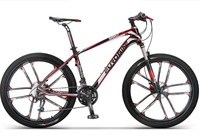 Carbon Fibre Frame Bike 27 Speed 26 Inch Wheel Complete Mountain Bike
