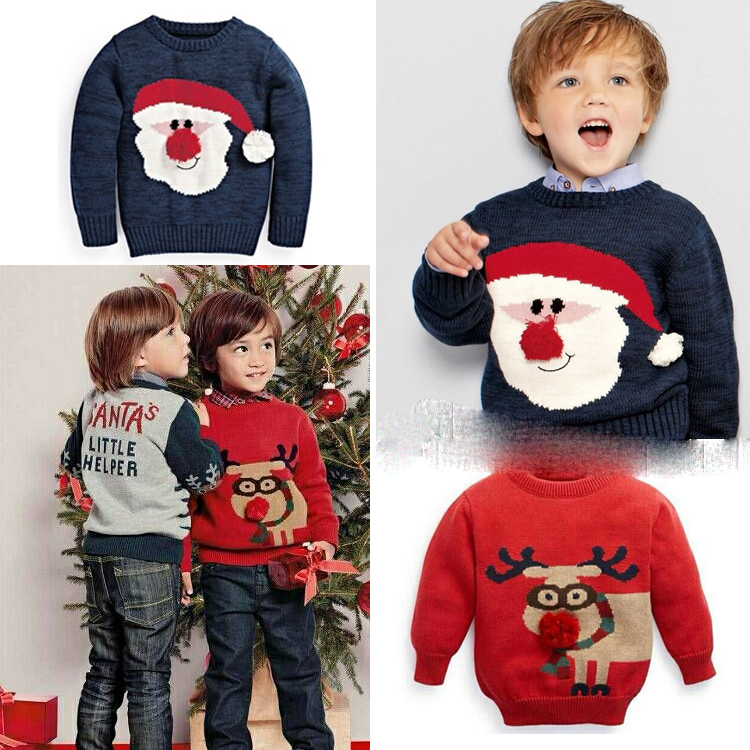 281173d2 Brand cartoon boys christmas sweater children\u0027s sweater for boys kids  pullove boy clothing 3,8 ...