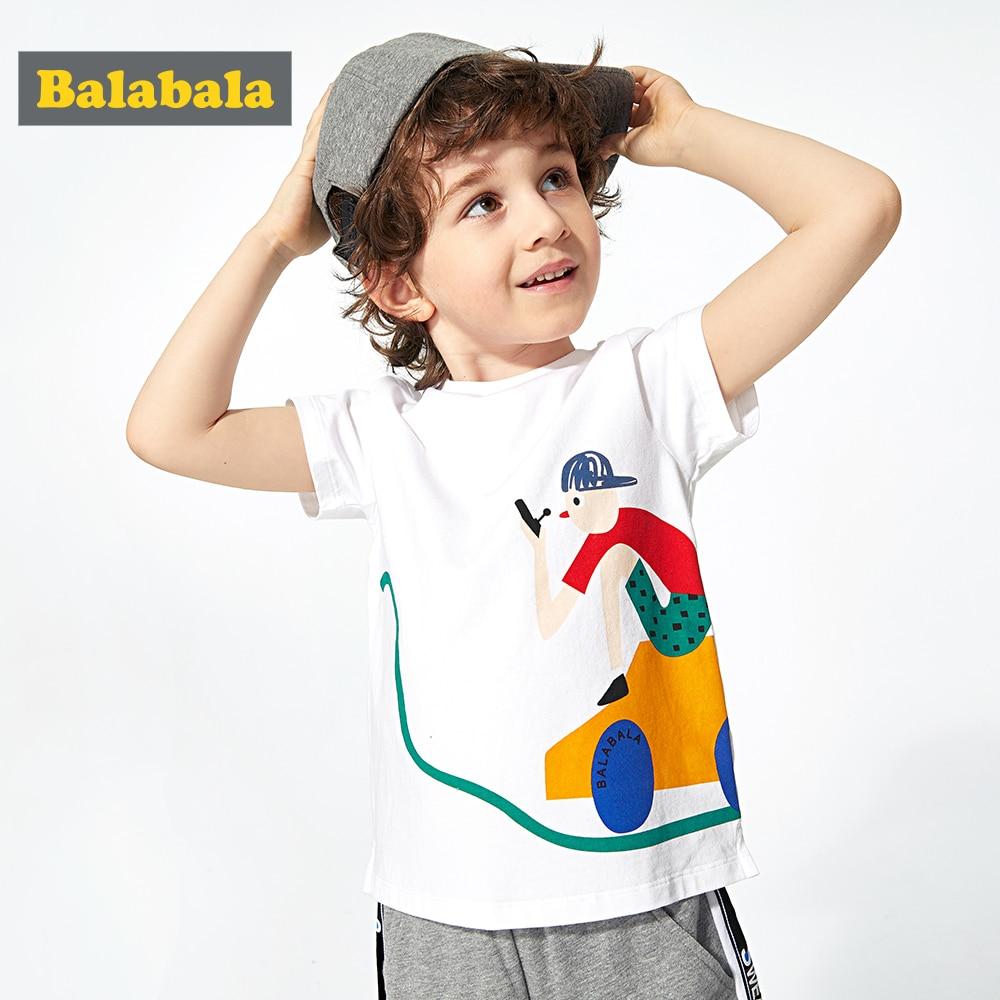 Tshirt Baby Balabalachildren-Wear Tees Short-Sleeve Bottoming Summer New Fashion Boy