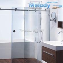 Me-002 Frameless Shower Sliding door Whole set Hardware 304 stainless steel