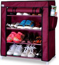 77*60*30CM Four layers Nonwovens Shoe Cabinets Oxford cloth Shoe rack