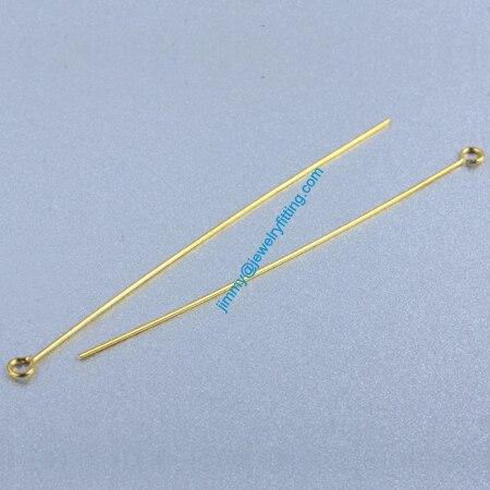 Ювелирных Изделий выводы Глаз Медными Штырьками Pins; Шарф Pins выводы 0.6*60 мм