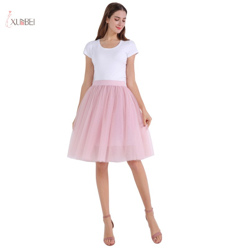 White Mini Layered 80/'s Tulle Net Tutu Petticoat