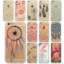 Phone Case For iphone 6 6s 6plus 6splus 4 4s 5 5s 5c Flexible Super Slim