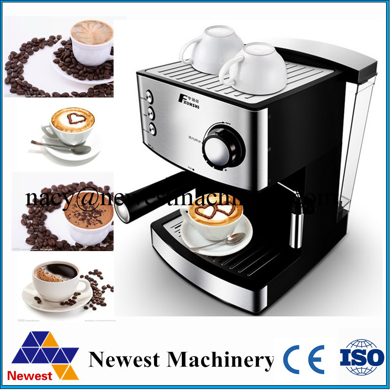 Stainless Steel Home espresso cappuccino coffee machine