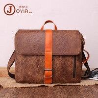 Joyir натуральная кожа сумка Мода Для мужчин сумки Винтаж Tote Для мужчин многофункциональный sac основной Для мужчин сумка кофе