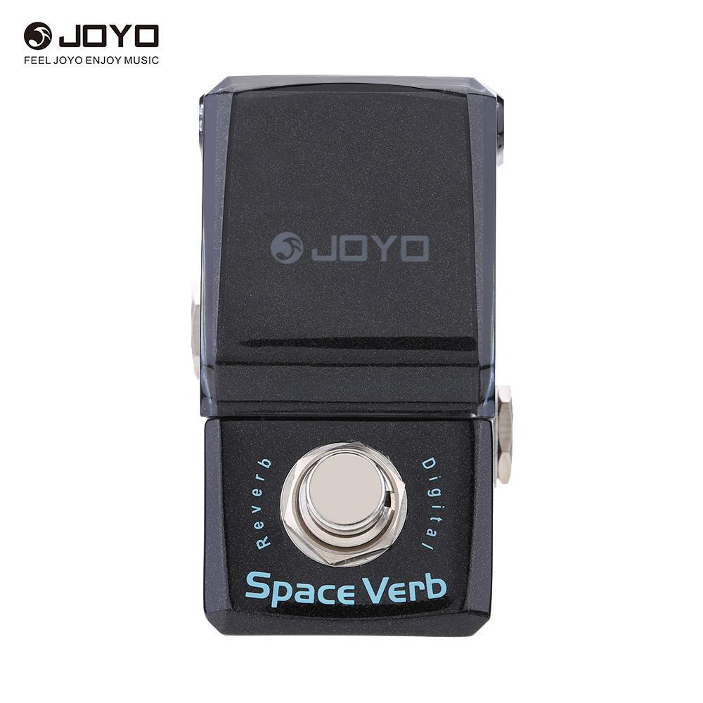 JOYO JF 317 Space Verb Digital Reverb Mini Electric Guitar Effect Pedal with Knob Guard True