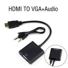 Hdmi to vga with audio cable hdmi switch 1080P
