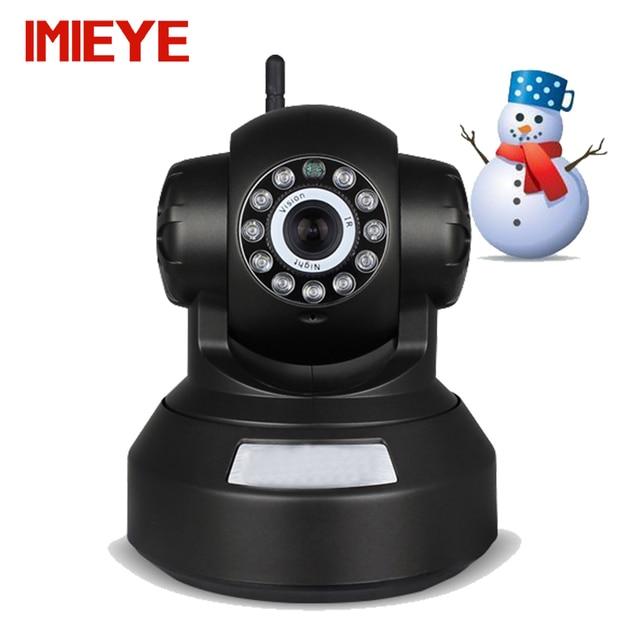 IMIEYE HD 720 P wi-fi беспроводная ip-камера поддержка 64 Г SD PTZ cctv ONVIF P2P onvif ip kamepa alarm motion detection webcam