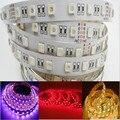 5050 LED RGBW/RGBWW Strip Light 4in1 Led Flexible Tape DC 12V /24V 5M 60LED/M 300LED High Brightness String 3M Sticker