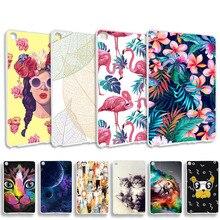 Fundas pintadas de silicona para teléfono Samsung Galaxy Tab A 8,0 2019 SM-P200 10,1 T515 S5E T720 T725, funda de parachoques, fundas para Tablet
