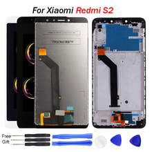 For Xiaomi Redmi s2 LCD display 5.99 inch touch screen digitizer assembly frame for redmi Y2 Free Tools for Redmi S2 Display цена и фото