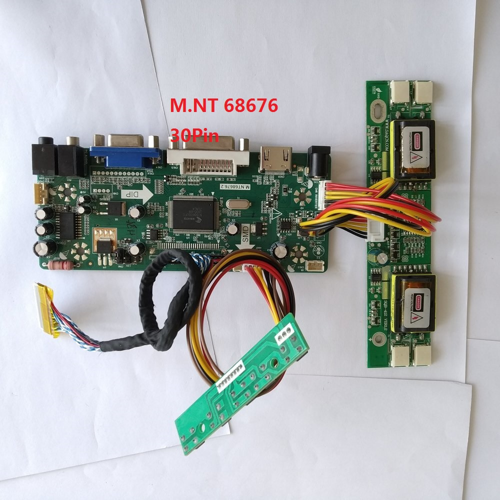 Kit For M220EW01 V4 Monitor Screen Controller Board DIY M.NT68676 22