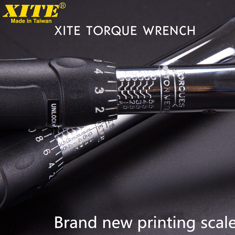 XITE Torque Wrench Adjustable Torque Wrench Kilogram Wrench Force Measuring Tyre Spark Plug Wrench Bike Bicycle Repair Tools