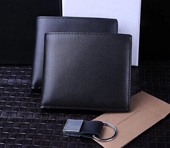Hot sales font b men b font genuine leather wallets male money purse Wallets brand casual