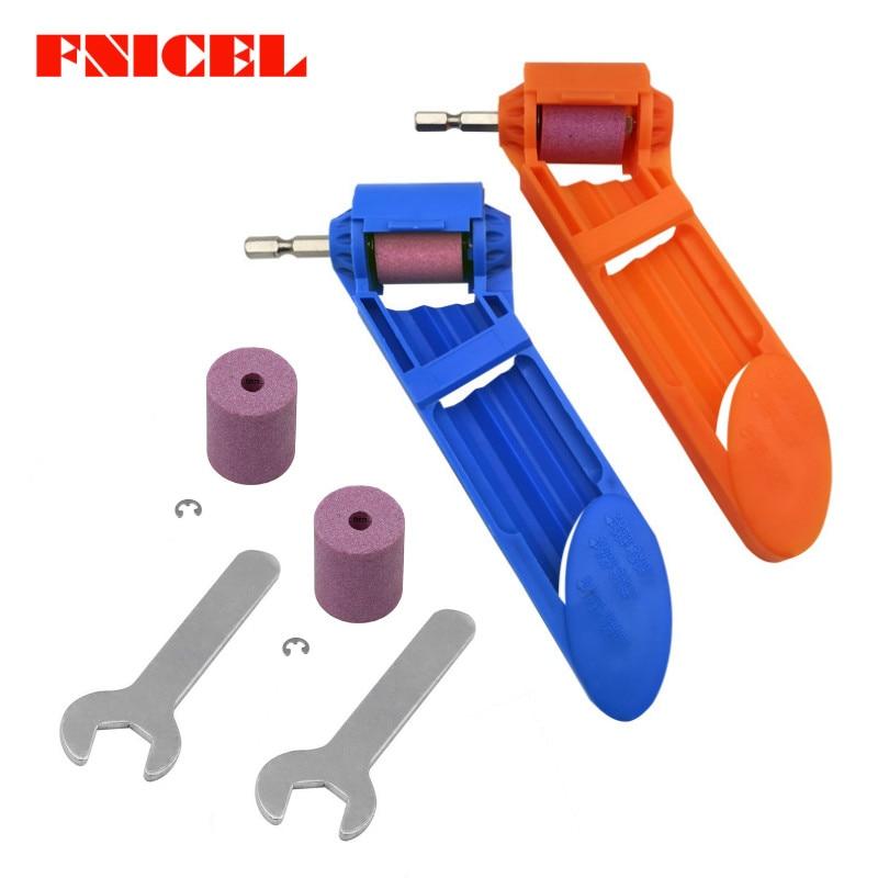 2-12.5mm Portable Drill Bit Sharpener Corundum Grinding Wheel Polishing Sharpener Auxiliary Tool for Drill Polishing Dropship