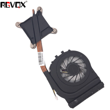 New Original Laptop Cooling Fan For HP 2740 2740P 2760P Heatsink PN:597840-001 Cooler/Radiator Replacement Repair for 100% new original pn 2015827 001 abdominal transducer belt for patient monitor new original