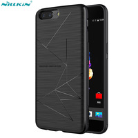 Nillkin QI Wireless Charging Receiver Case For Oneplus 5 Case Back Cover Compatible With Magnetic Holder